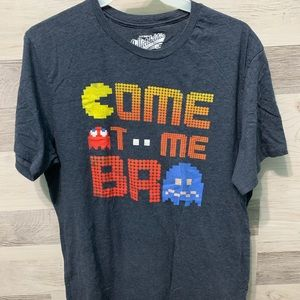 "Pac-Man ""Come at Me Bro"" Printed Tee"